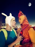 Fiona and Flame Prince: Close to my Heart by SNTP