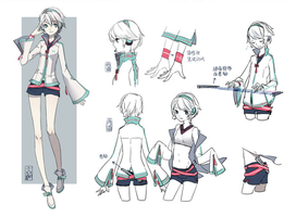 New Chinese Vocaloid: Yan He by iNSaNeCiRCuSMoNSTeR