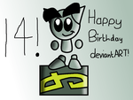 Happy birthday to deviantART! by iPersonator