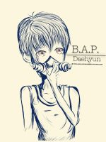 B.A.P. - Daehyun by CoLoRfUlHiKaRi