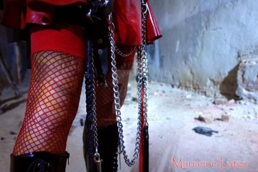 Crawl for your Mistress! 4 by mariannelatex