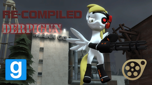 [GMOD SFM DL] Recompiled Derpigun by Optimus97