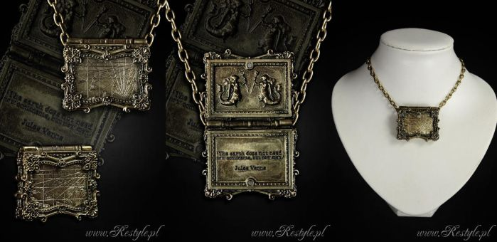 MAP Locket pendant by Euflonica