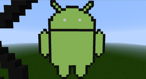 Android Logo Minecraft by DeadplinkOfTheSand