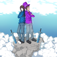 GermanLetsPlay and Zombey - #ZomGer by RozeAkane