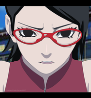 Sarada Uchiha Colored by Sarah927