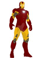 Iron Man- a work in progress by Vecthand