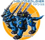 ZOIDS - Houndsoldier by SakuraBomb