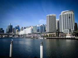 Sydney Harbour by xgeex