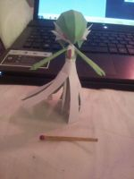 Gardevoir Papercraft 2nd Reduction by gardevoir7