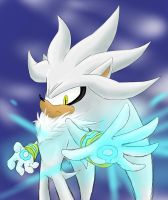Silver The Hedgehog by amberday