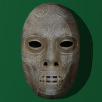 Papercraft Death Eater Mask 3 by Tektonten