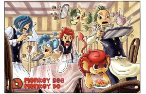 PKMN: Monkey See, Monkey Do by e1n