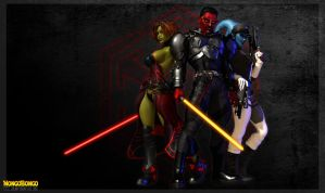 SWTOR Sith Imperials by MongoBongoArt