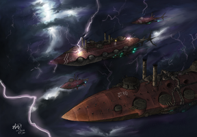Advancing Fleet by Waffle0708