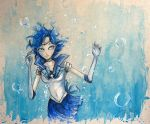 Sailor Mercury by AdamScythe