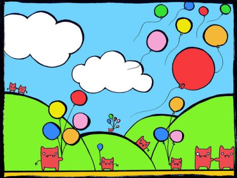 Sweet Globos by caxorrito