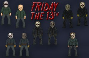 Jason Voorhees Micros by Orlock