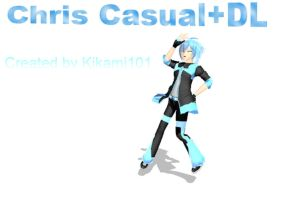 MMD Newcomer Prince Chris+DL by MsYelenaJonas