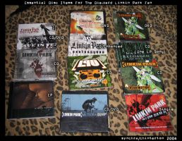 EssentialDiscItems by linkinparkfans