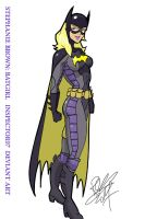 Stephanie Brown Batgirl by Inspector97