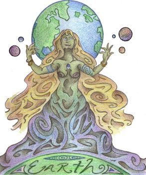 Spirit of the Earth by Spiralpathdesigns