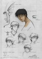 Aylenaer . Concept Sketches . by SilentReaper