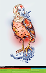The Bird of Charity (Color) [vector source] by OlegLevashov