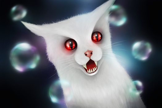 Magic Cat by EmeSso