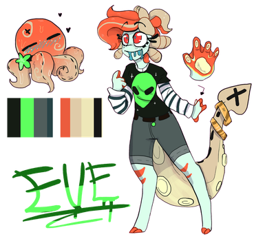 Eve Reference Sheet by SADSLIP