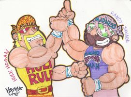 The Mega Powers by RageTheHedgehog