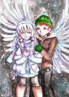 Snow Angels by Nithak