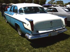 1955 Chrysler Windsor with Chrome Fins by RoadTripDog