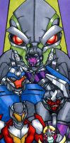 TFP Stunticons by soy-monk