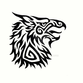 Tribal Griffin by Hareguizer