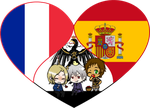 Bad Touch Trio Shimeji Heart by LadyAxis