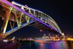 Led Bridge by Michaelthien