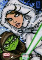 SW Galaxy: ARC Yoda Padme by grantgoboom