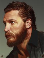 Tom Hardy by Twistmyflesh