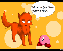 Firestar meets Kirby by Kiichiii