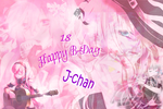 J-chan B-day by sparky-cool