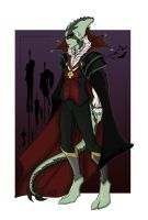 Halloween - Vampire colour by Millster-Ink