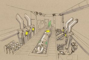 DN engine room 2 by Jepray