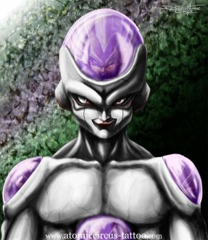 Frieza from Dragonball by AtomiccircuS