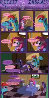 Rocket to Insanity: Common Differences 4 by seventozen