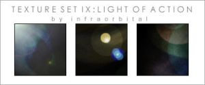 Texture Set 9: Light of Action by amritama
