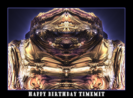 happy birthday timemit by fraterchaos
