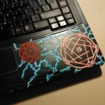 Laptop Detail, Fullmetal Alchemist by Ladnir