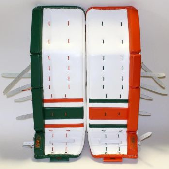 Sock style Paw Goalie pads by beccaraptor