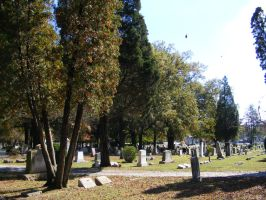 Autumn Cemetery 21 by DKD-Stock